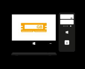 PC-Desktop-Arbeitsspeicher-RAM-Upgrade-Austausch