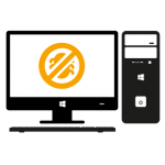 PC-Desktop-Virus-Viren-Beseitigung