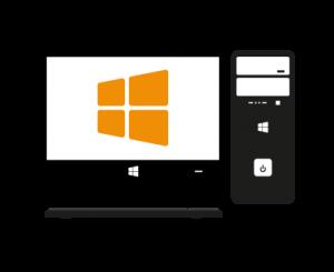 PC-Desktop-Windows-Betriebssystem-Installation